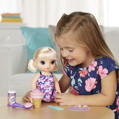 Boneca Baby Alive Sobremesa Mágica Loira - Hasbro