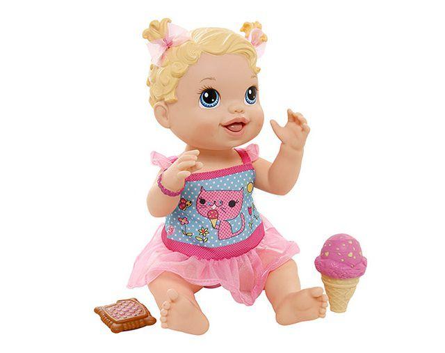 Boneca Baby Alive Sorvetinho Loira - Hasbro