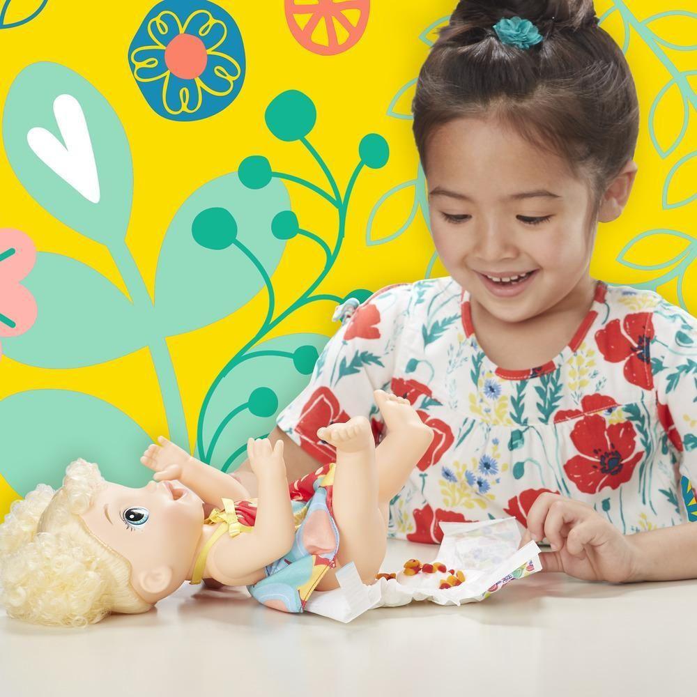 Boneca Baby Alive Super Snacks Meu Forninho Loira - Hasbro