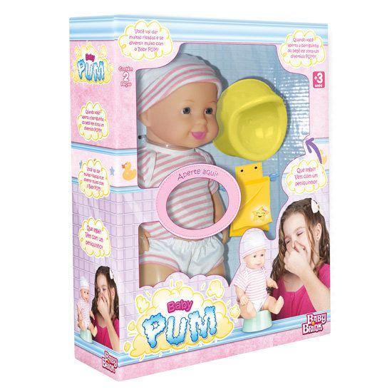 Boneca Baby Pum - Baby Brink