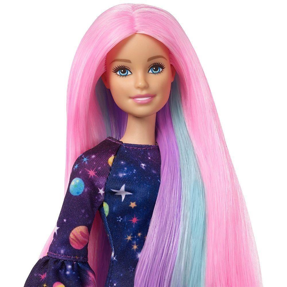 Boneca Barbie Cabelos Coloridos - Mattel