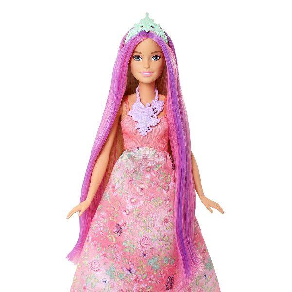 Boneca Barbie Dreamtopia Princesa Cabelos Coloridos - Mattel