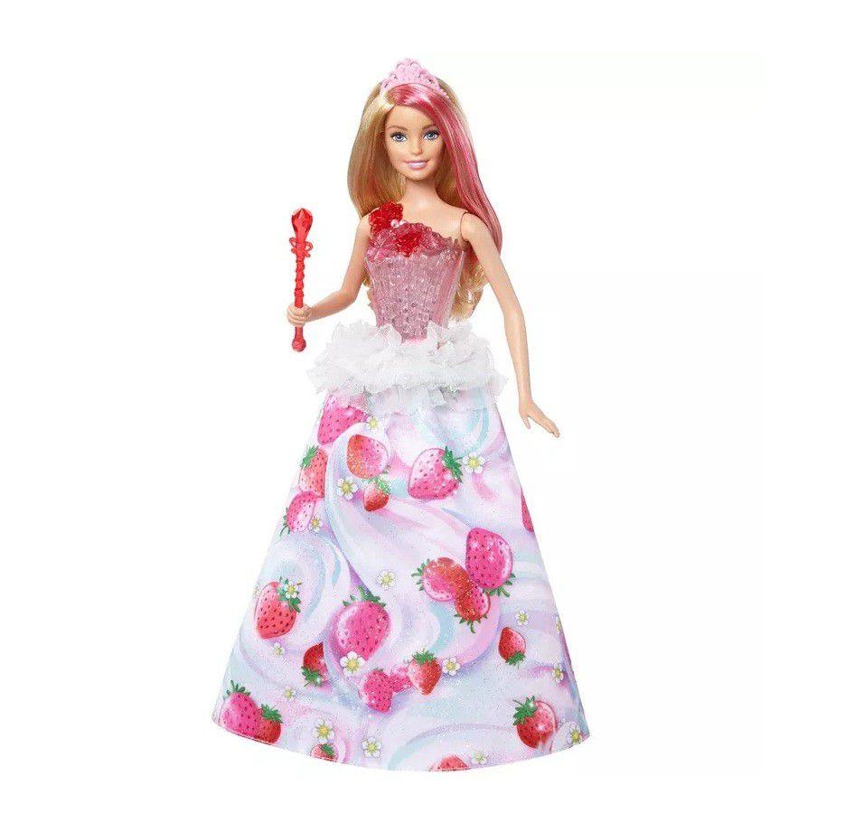 Boneca Barbie Dreamtopia Princesa Reino dos Doces - Mattel