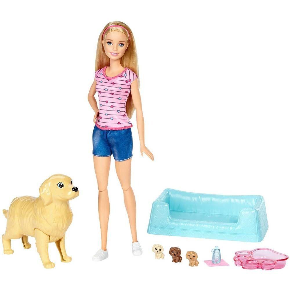 Boneca Barbie Filhotinhos Recém-Nascidos - Mattel