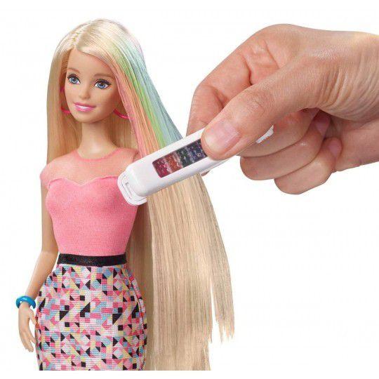 Boneca Barbie Luzes Coloridas - Mattel