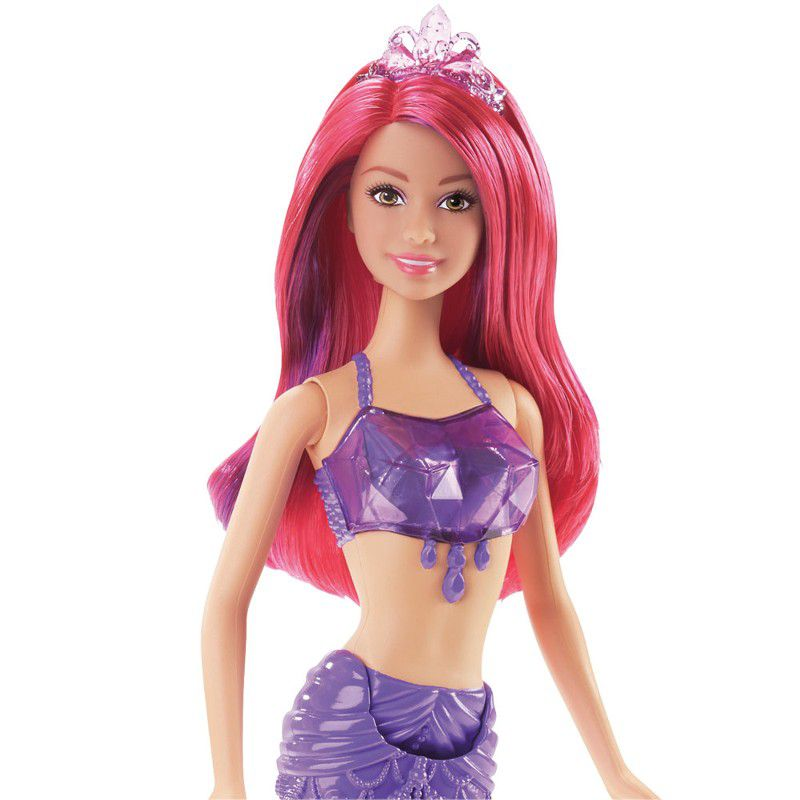 Boneca Barbie Reinos Mágicos Sereia - Mattel