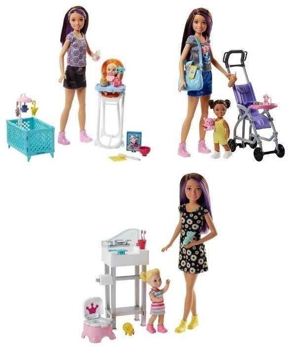 Boneca Barbie Skipper Babysitters INC - Mattel