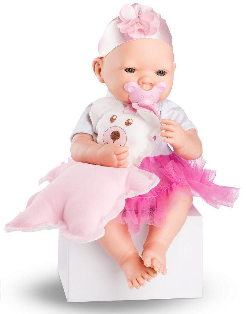 Boneca Bebezinho Real com Cheirinho e Chupeta - Roma Brinquedos