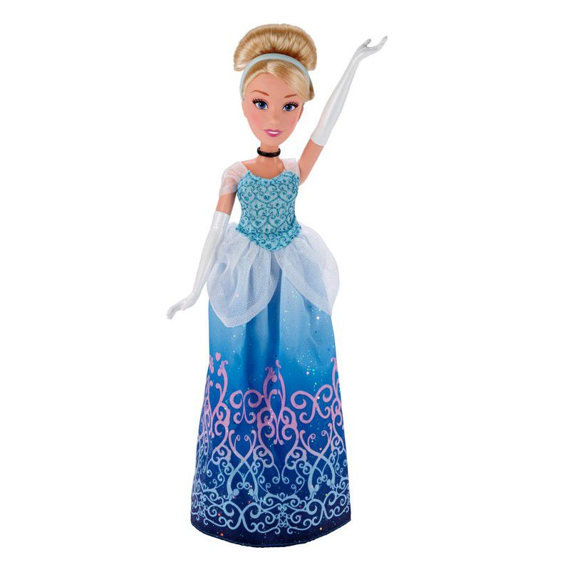 Boneca Clássica Princesas Disney Cinderela Vestido Brilhante - Hasbro