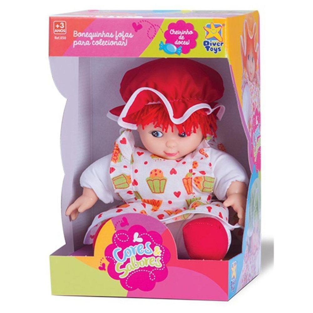 Boneca Cores e Sabores - Diver Toys
