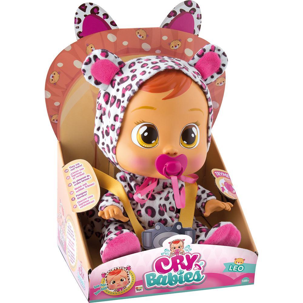 Boneca CRY Babies Lea - Multikids