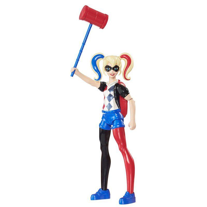 Boneca Dc Super Hero Girls - Harley Quinn/ Mulher Maravilha - Mattel