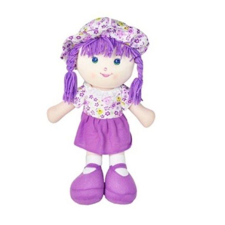 Boneca de Pano Florzinha Grande - DM Toys