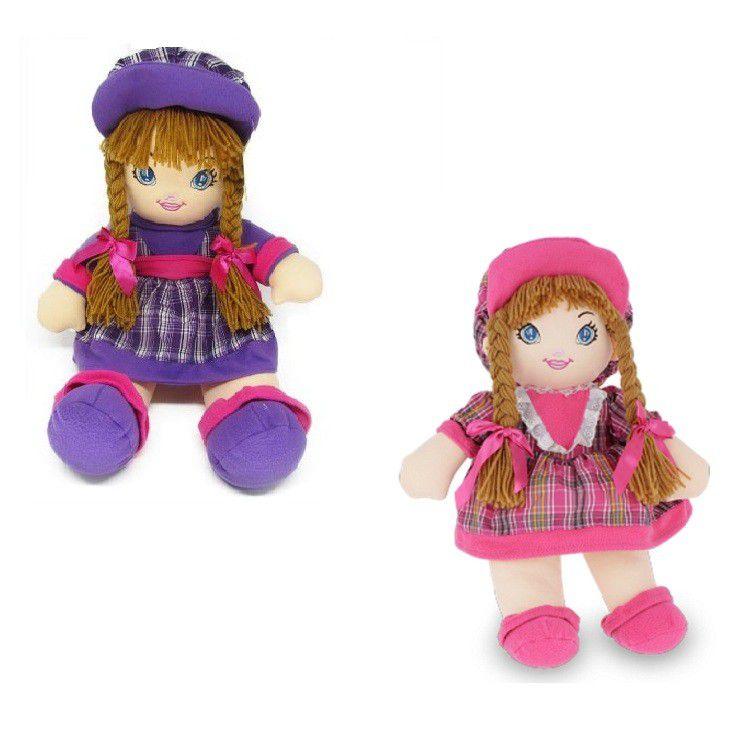 Boneca de Pano Grande - Fofy Toys