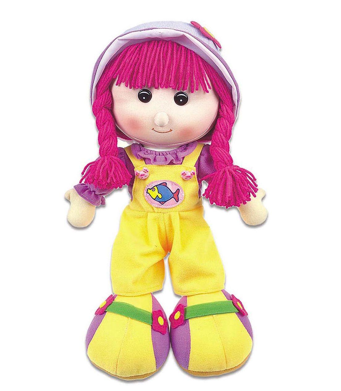 Boneca de Pano Maria Chiquinha Grande Sortidas - Braskit