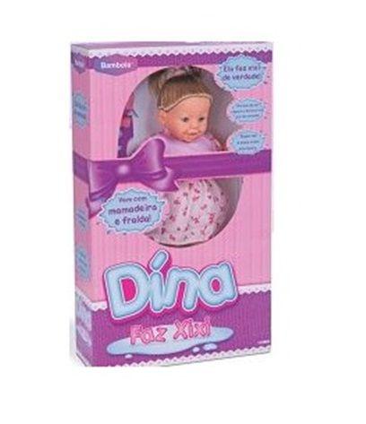 Boneca Dína Faz Xixi - Bambola