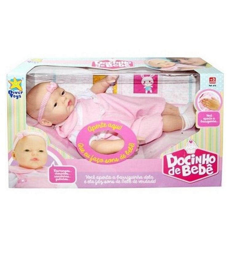 Boneca Docinho de Bebê - Diver Toys