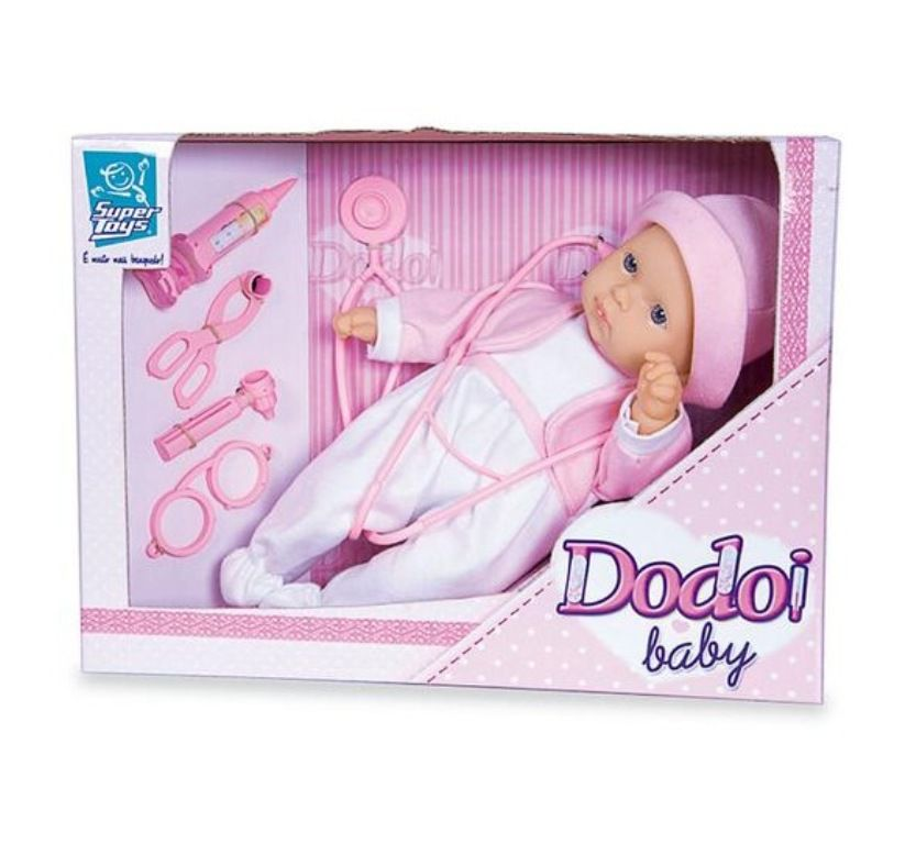 Boneca Dodói Baby - Super Toys