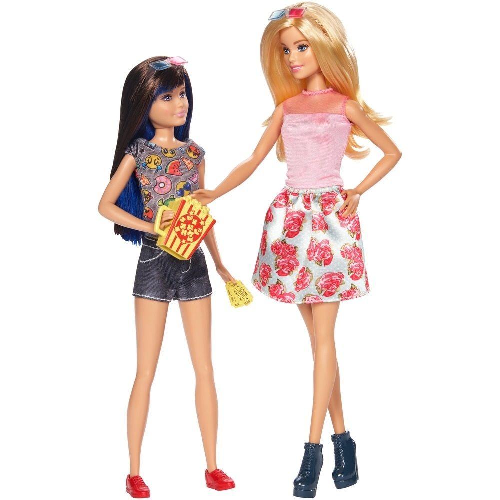 Boneca Dupla de Irmãs Barbie e Skipper - Mattel