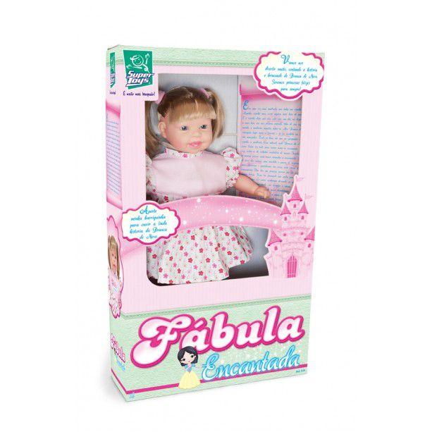 Boneca Fábula Encantada ? Super Toys