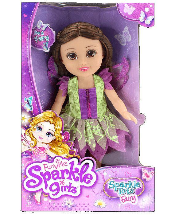 Boneca Funville Sparkle Girlz Pequena Brilhante Fada - DTC
