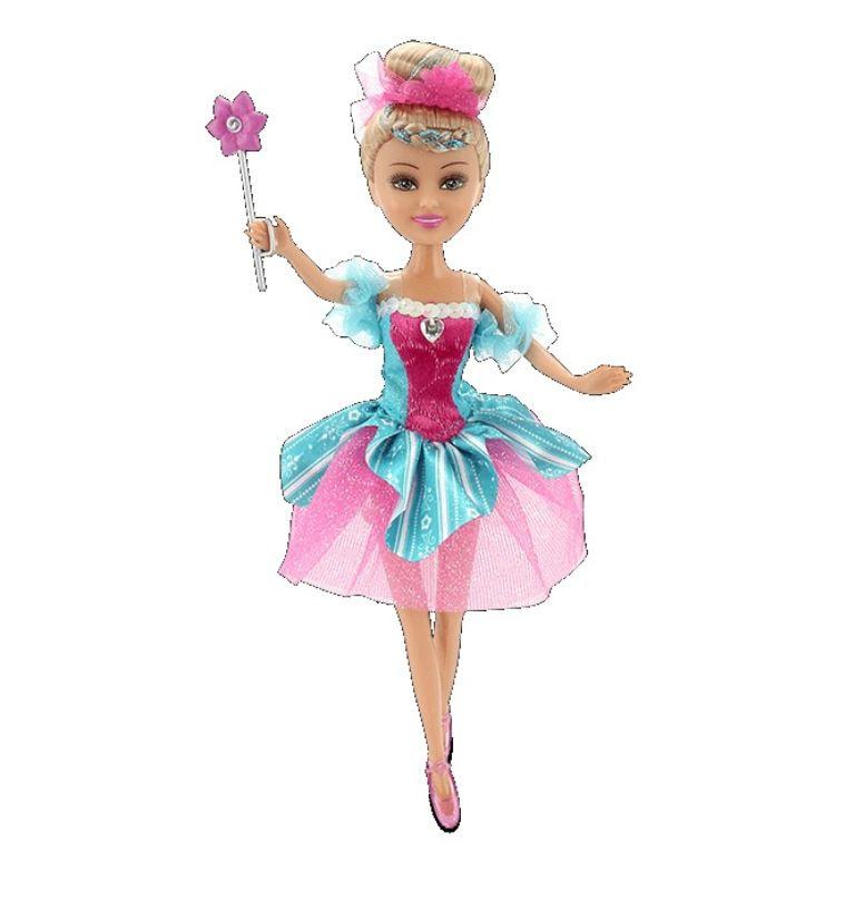 Boneca Funville Sparkle Girlz Super Brilhante Bailarina - DTC