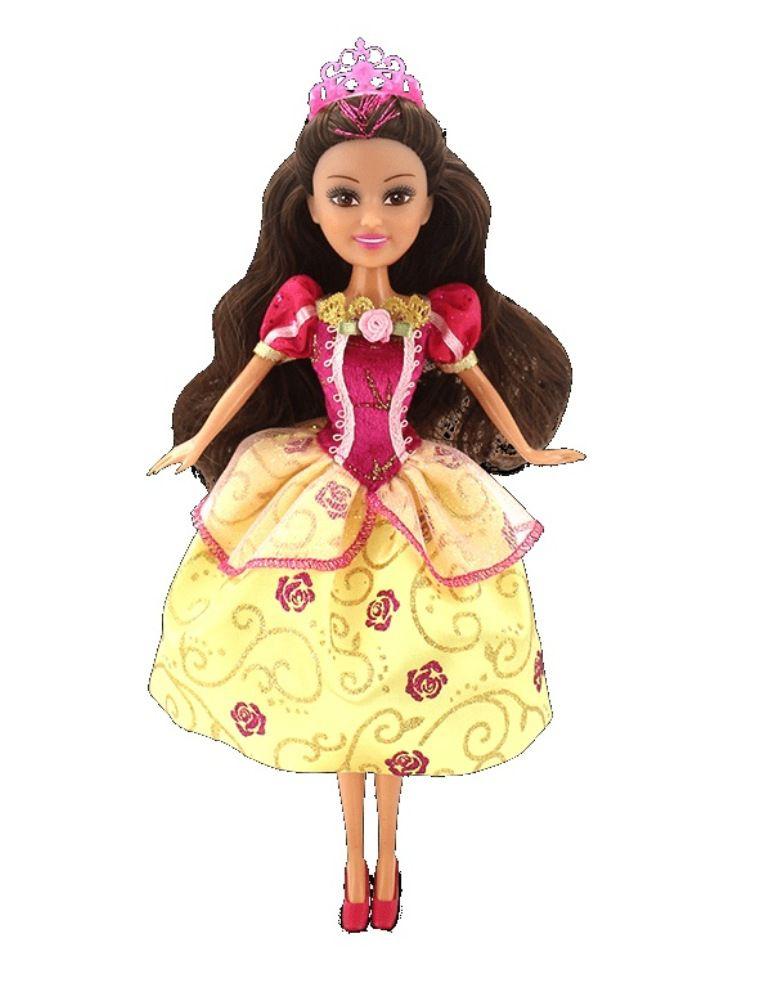 Boneca Funville Sparkle Girlz Super Brilhante Princesa - DTC