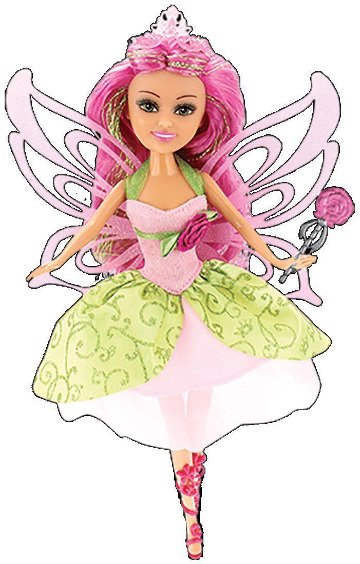 Boneca Funville Sparkle Girlz Super Sparkly Fada das Flores - DTC