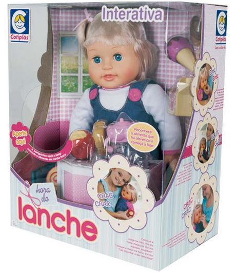 Boneca Hora do Lanche - Cotiplás