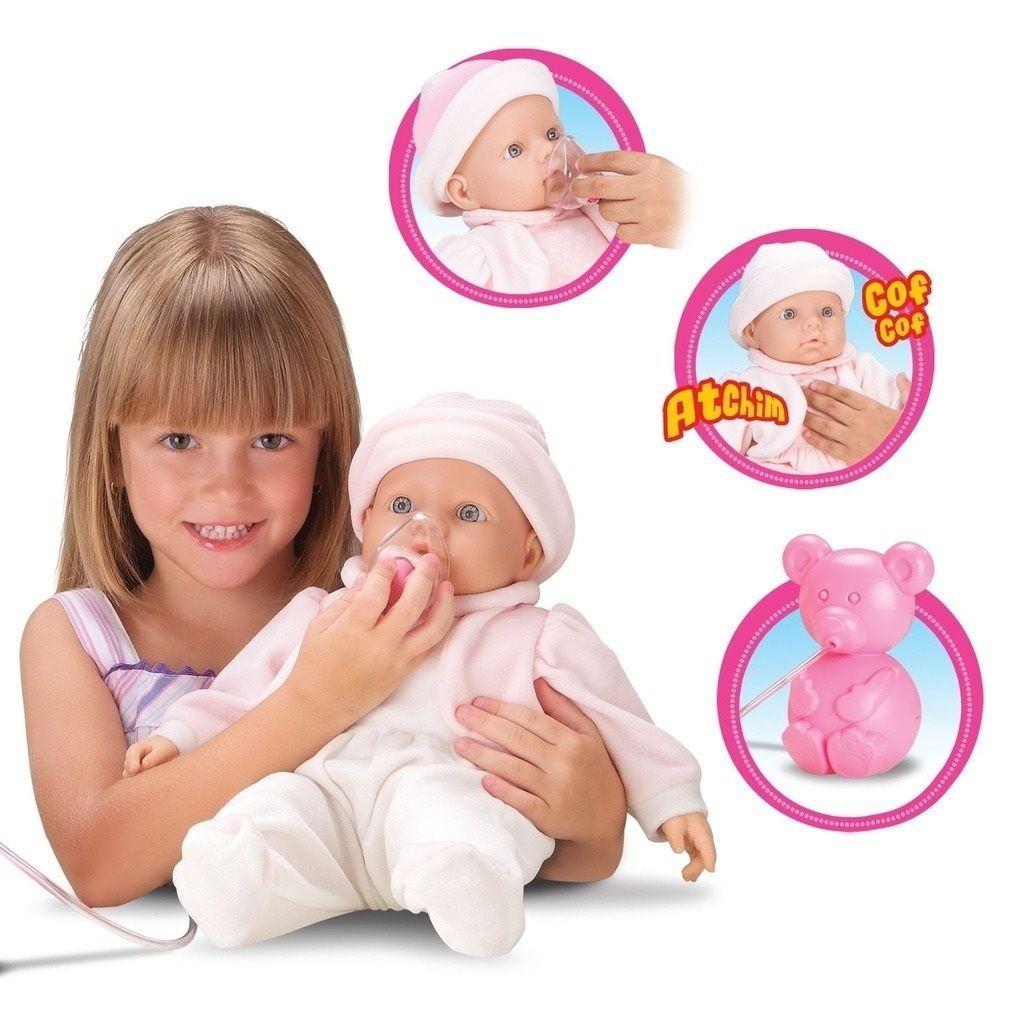 Boneca Interactive Baby Inalação - Roma Brinquedos