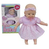 Boneca Iole Bebê Fala Frases - Bambola