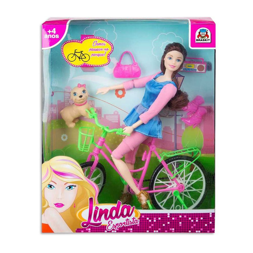 Boneca Linda Esportista - Braskit