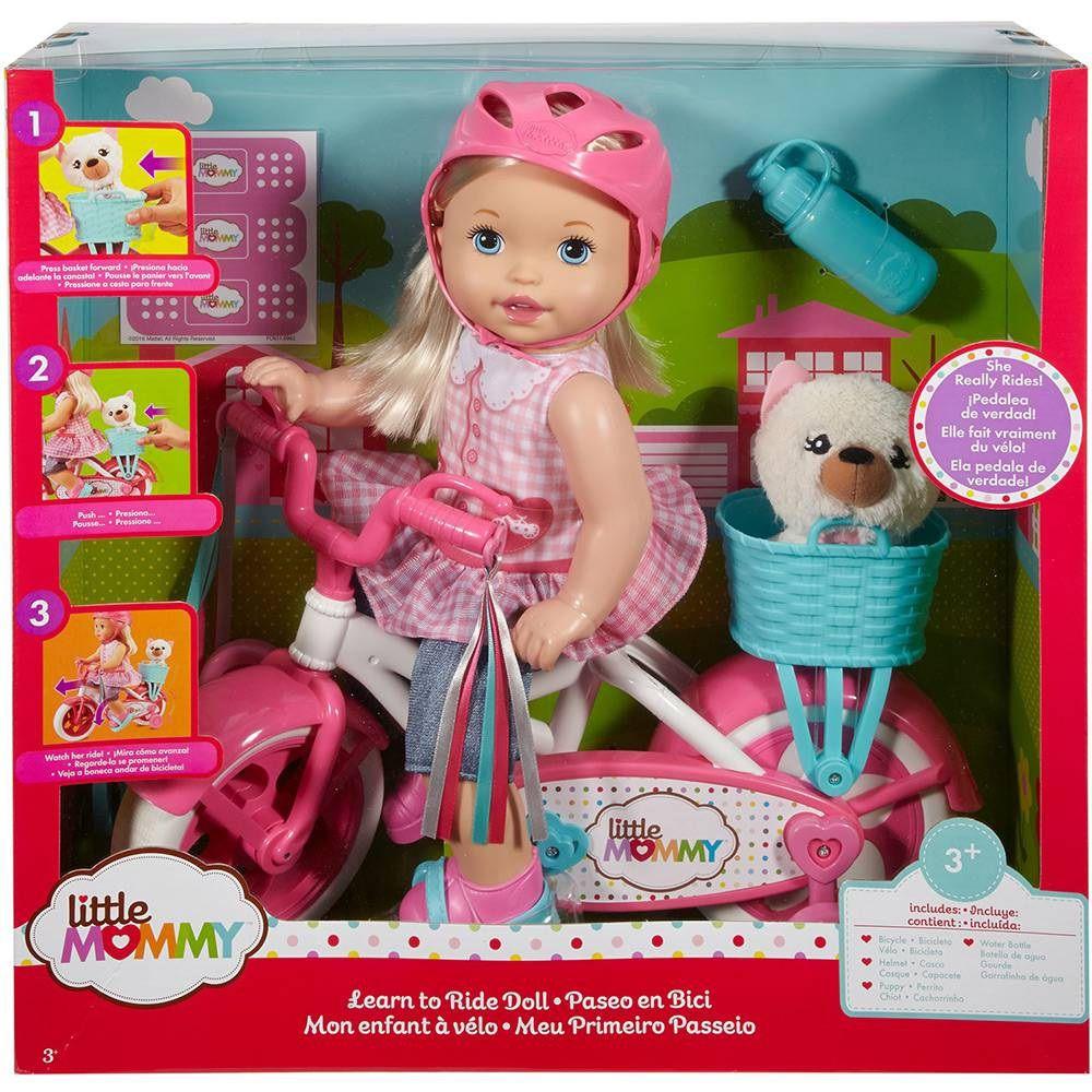 Boneca Little Mommy Meu Primeiro Passeio com Bicicleta - Mattel