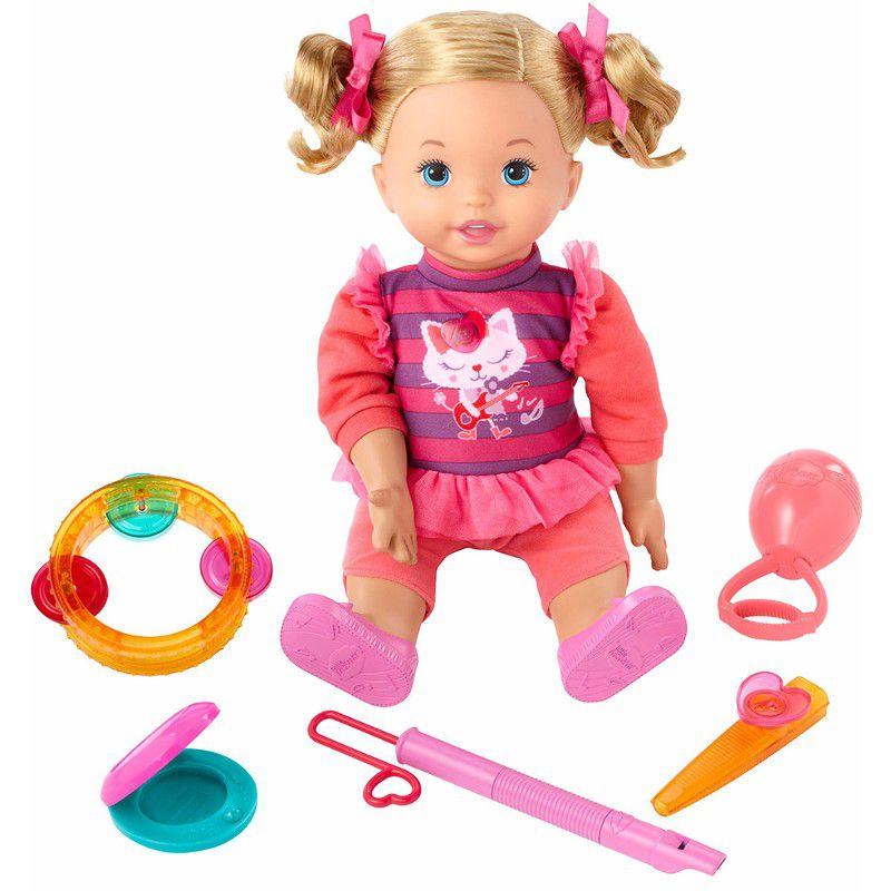 Boneca Little Mommy Vamos Fazer Música! - Mattel