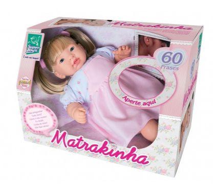Boneca Matrakinha 60 Frases - Super Toys