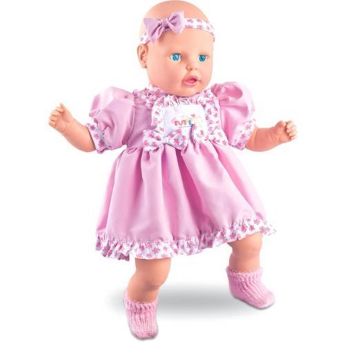 Boneca Meu Nenezão 62 Frases - Milk Brinquedos