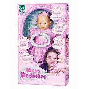 Boneca Meus Dedinhos Musical - Super Toys