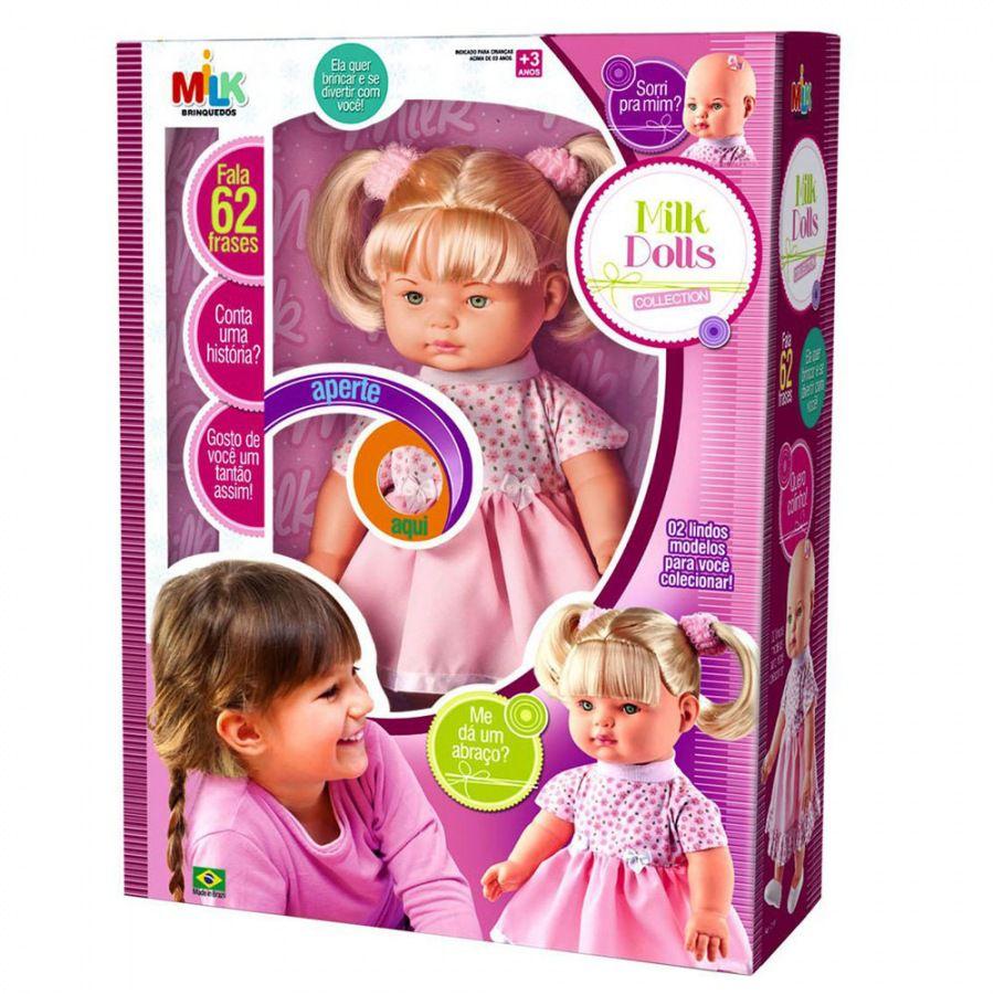 Boneca Milk Dolls Collection - Milk Brinquedos