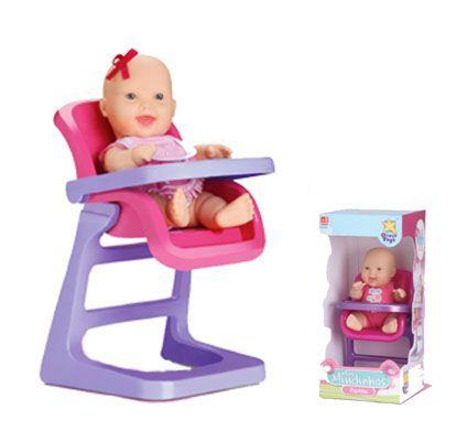 Boneca Mini Miudinhas Papinha Sortida - Diver Toys