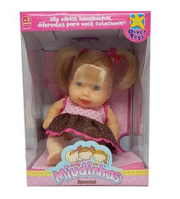 Boneca Miudinhas Special - Diver Toys