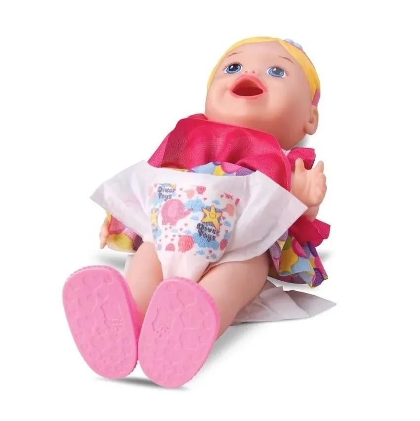 Boneca My Little Collection Come e Faz Caquinha - Diver Toys