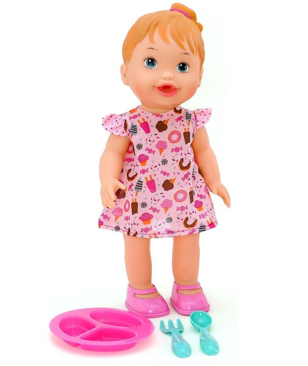 Boneca My Little Collection Lanchinho - Diver Toys