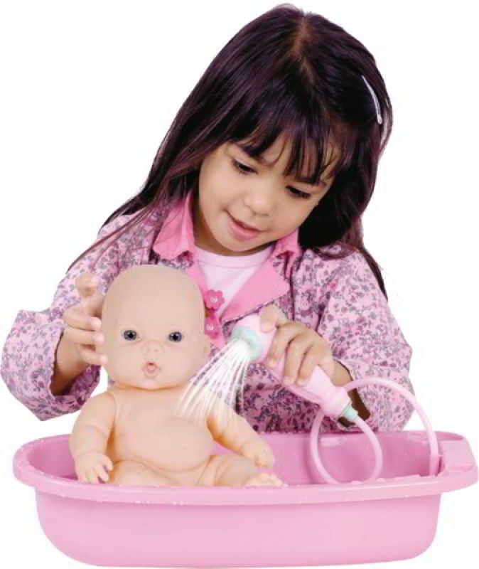Boneca Nenequinha Chuveirinho - Super Toys