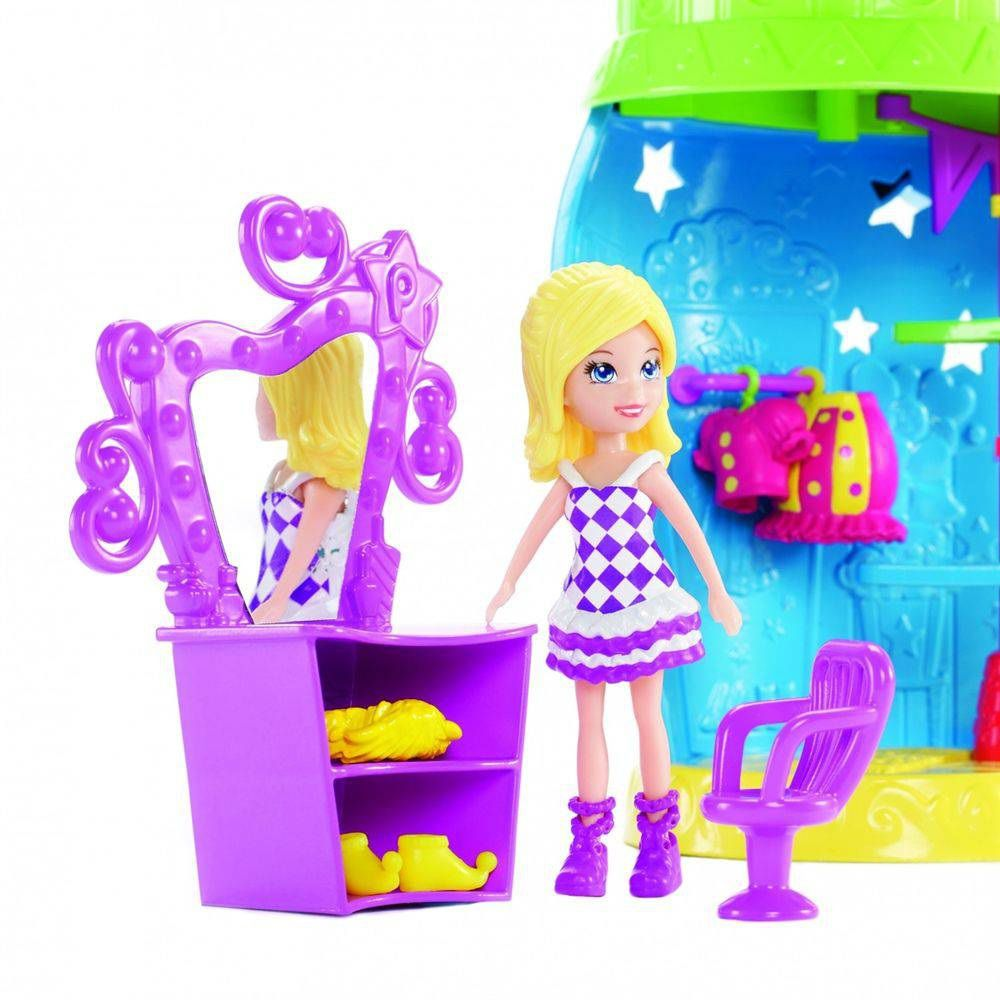 Boneca Polly Pocket Circo dos Bichinhos - Mattel