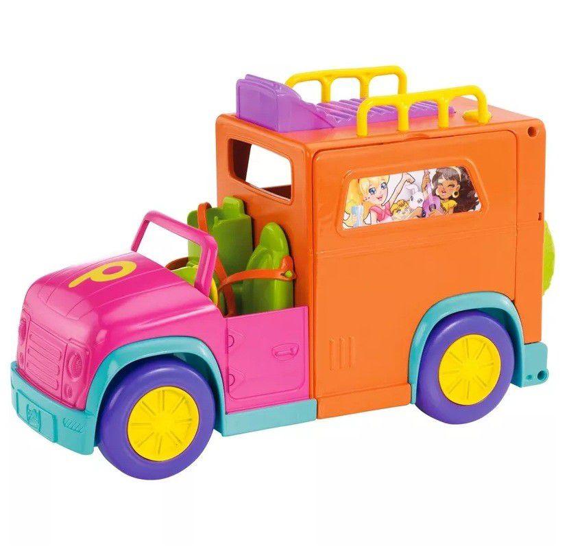Boneca Polly Pocket Acampamento Legal - Mattel