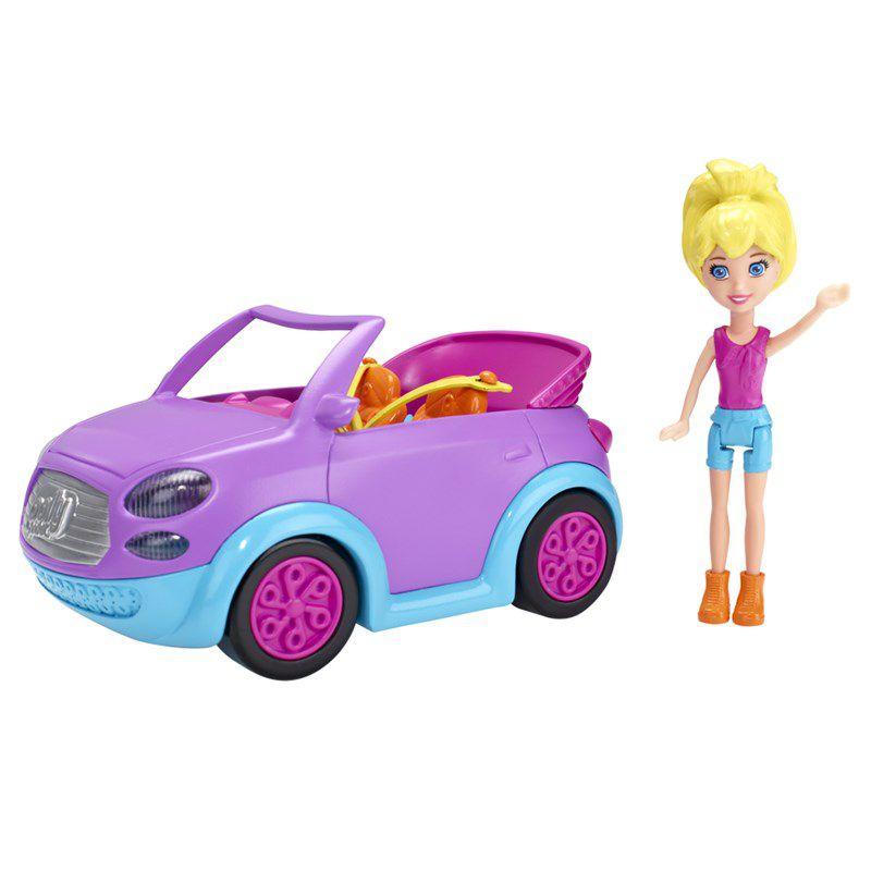 Boneca Polly Pocket Carro Conversível - Mattel