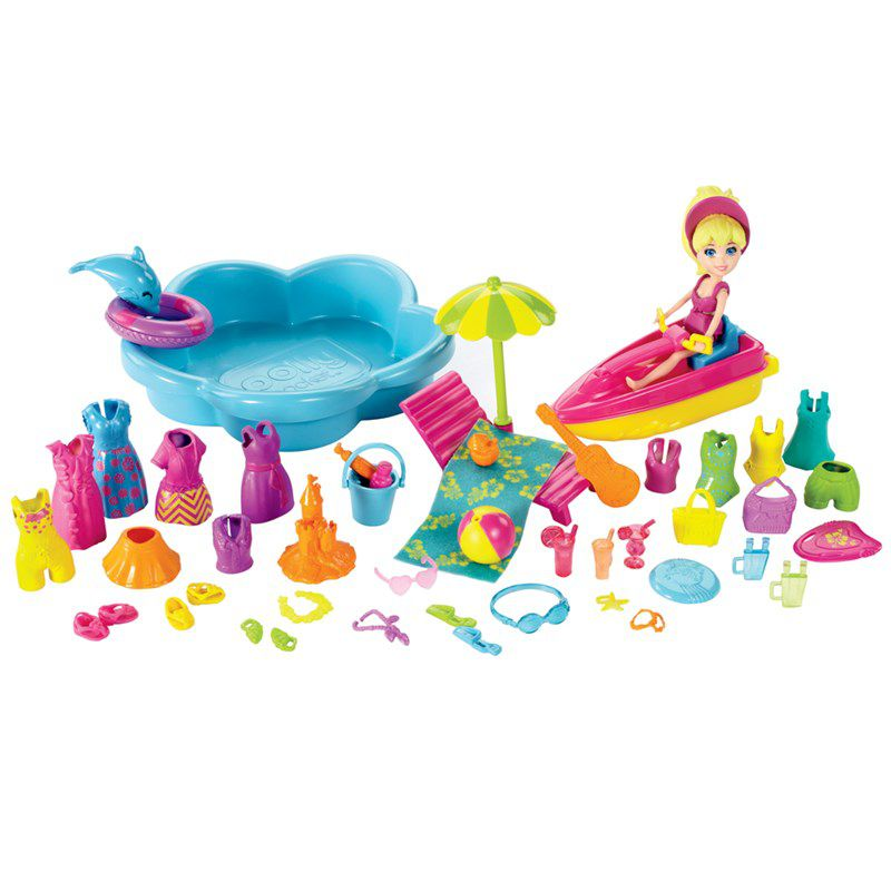 Boneca Polly Pocket Diversão na Praia - Mattel