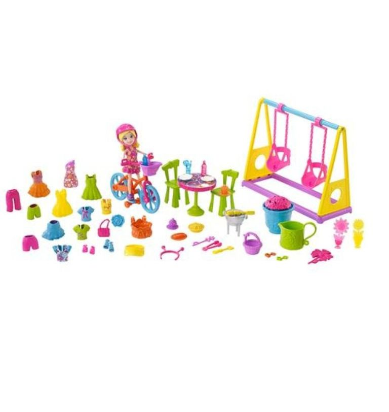 Boneca Polly Pocket Diversão no Jardim - Mattel