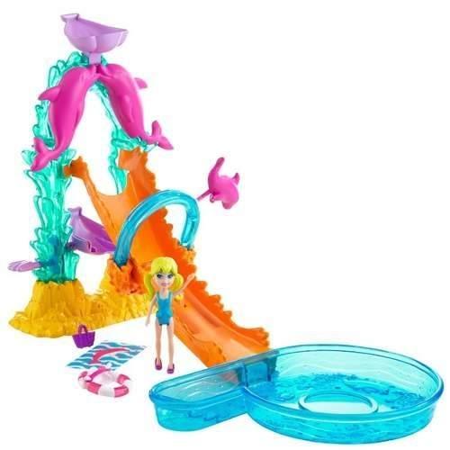 Boneca Polly Pocket Golfinho Acrobático - Mattel
