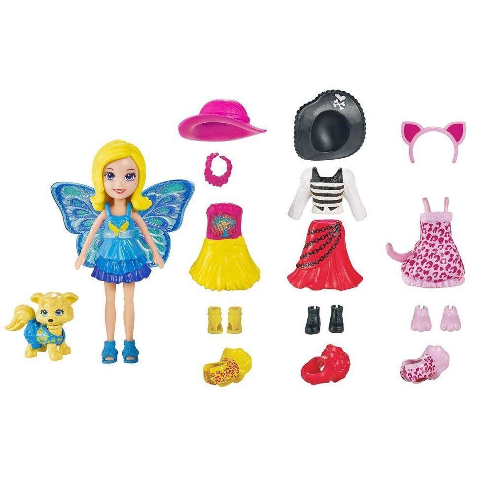 Boneca Polly Pocket Looks Combinados - Mattel